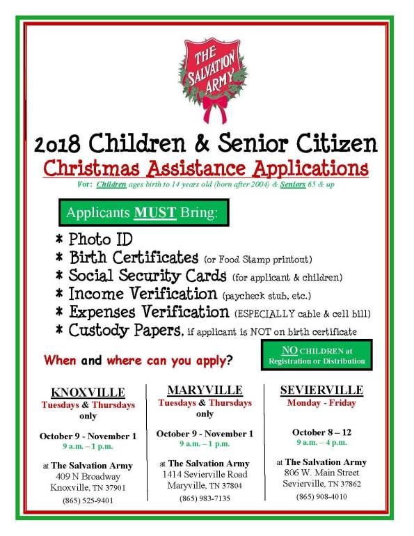 Christmas Assistance FLIER All Locations 2018